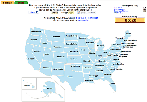 names of all the 50 states My Web Value