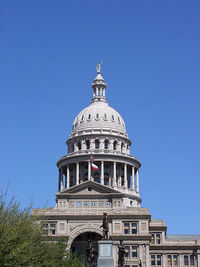 Texas Capitol Daytime